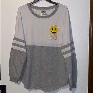 """Juniors """"SMILE"""" emoji shirt"""